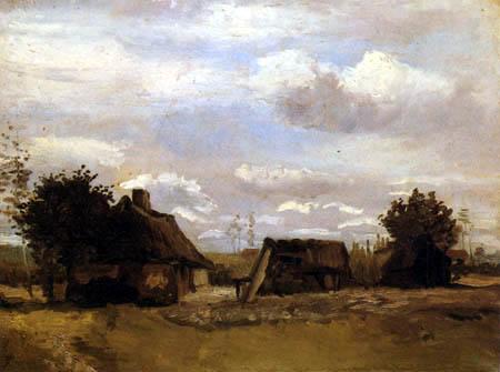 Vincent van Gogh - Bauernhaus
