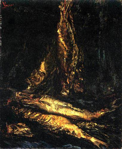 Vincent van Gogh - Stilleben mit Bücklingen