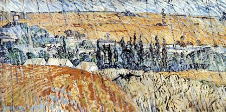 Vincent van Gogh -  Landscape in Rain