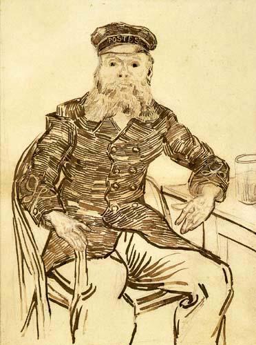 Vincent van Gogh - Porträt des Joseph Roulin