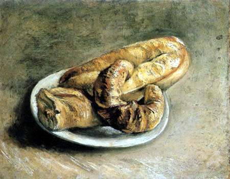 Vincent van Gogh - Still life with bread