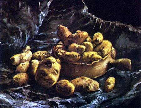 Vincent van Gogh - Still life with potatoes