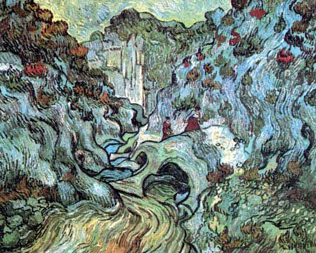Vincent van Gogh - The Canyon