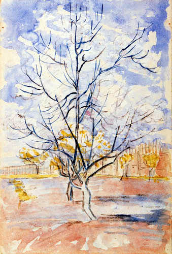 Vincent van Gogh - Rosa Pfirsichbäume