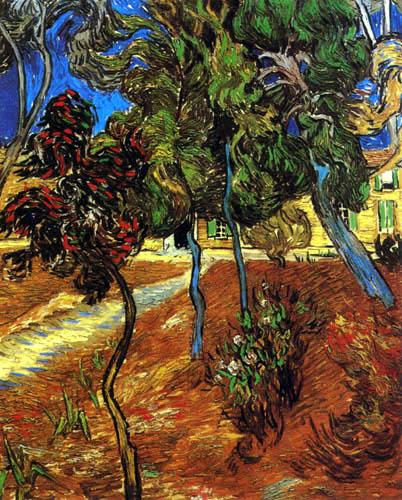 Vincent van Gogh - Dans le jardin de l'hôpital Saint-Paul