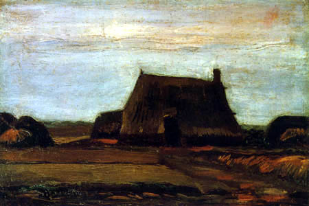 Vincent van Gogh - A farmhouse