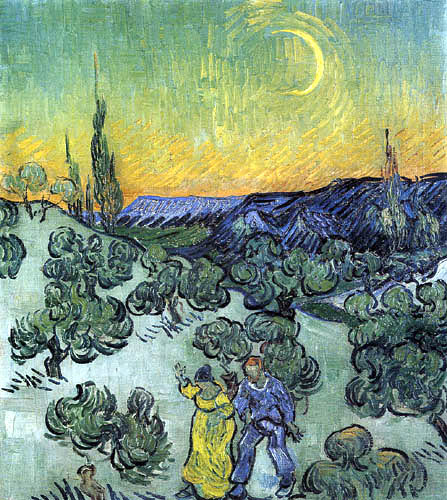 Vincent van Gogh - Der Abendspaziergang