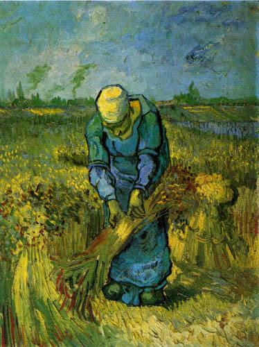 Vincent van Gogh - The Grain Binder