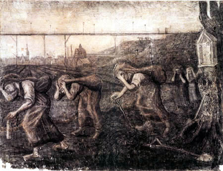 Vincent van Gogh - The Brearers of the Burden