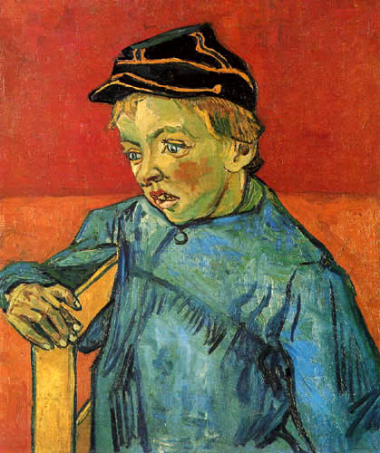 Vincent van Gogh - Boy with cap