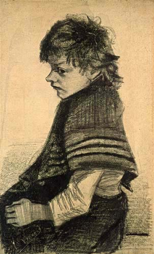 Vincent van Gogh - Girl with Scarf