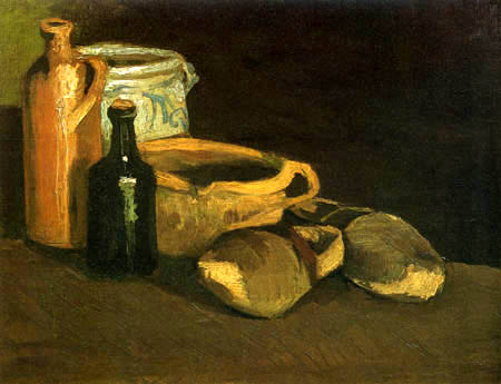 Vincent van Gogh - Still Life with Earthenware and Clogs