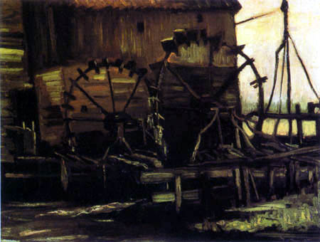 Vincent van Gogh - Watermill in Gennep