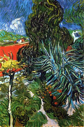 Vincent van Gogh - Der Garten von Doktor Gachet in Auvers