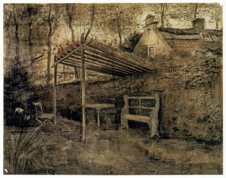 Vincent van Gogh - Gartenecke