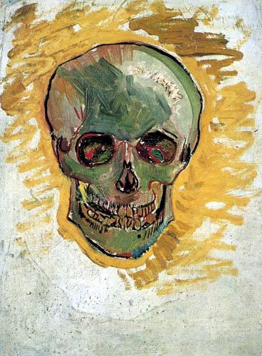 Vincent van Gogh - Skull