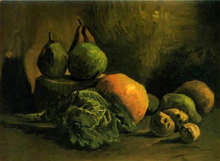 Vincent van Gogh - Stilleben mit Gemüse