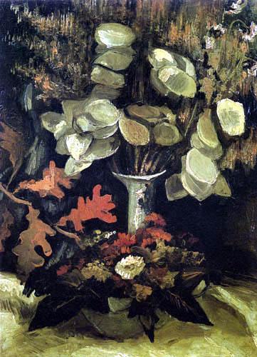 Vincent van Gogh - Vase with Lunaria