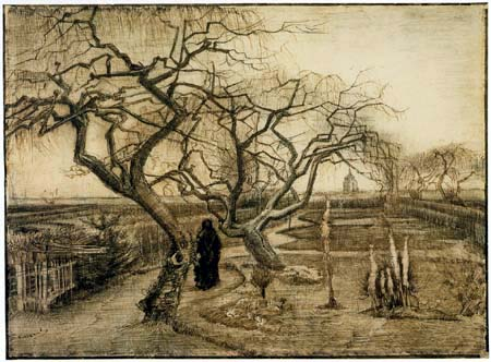 Vincent van Gogh - Garten in the Winter