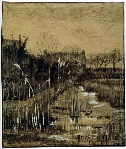 Vincent van Gogh - Graben