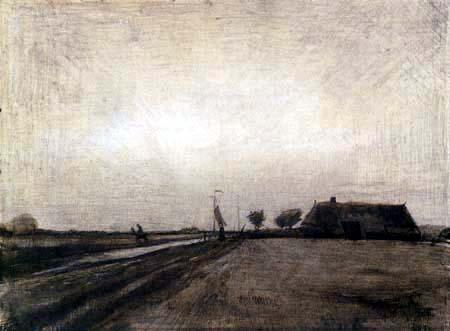 Vincent van Gogh - Landschaft in Drenthe