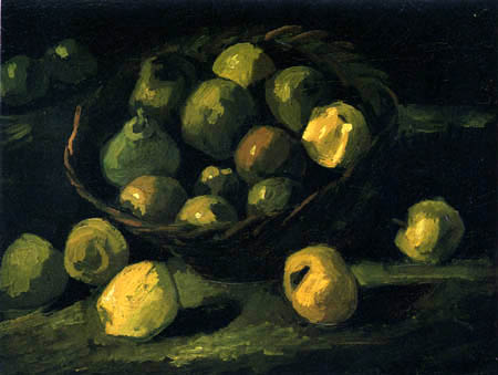 Vincent van Gogh - Still life with apple basket