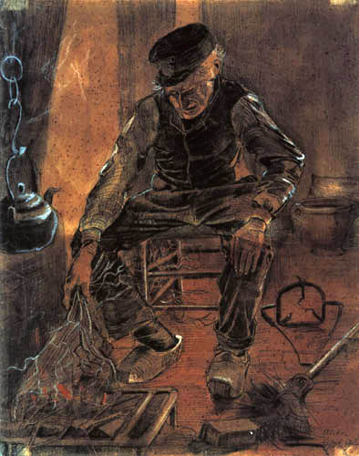 Vincent van Gogh - Old man with brushwood