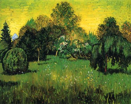 Vincent van Gogh - Clairière dans un parc