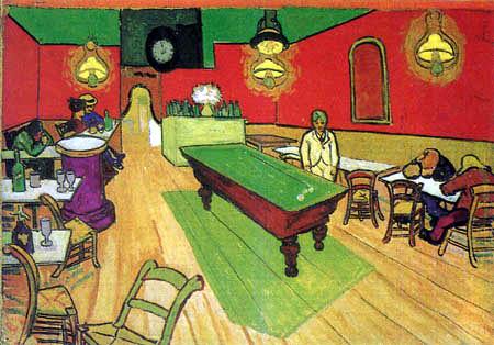 Vincent van Gogh - Das Nachtcafé
