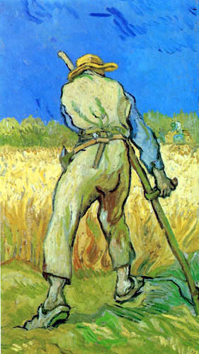 Vincent van Gogh - The Reaper