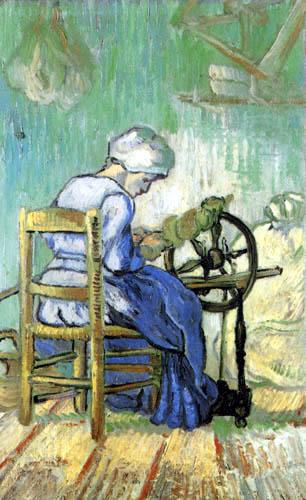 Vincent van Gogh - Spinstress