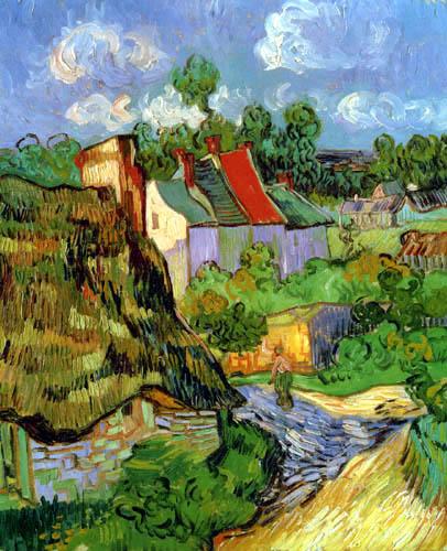 Vincent van Gogh - Houses in Auvers