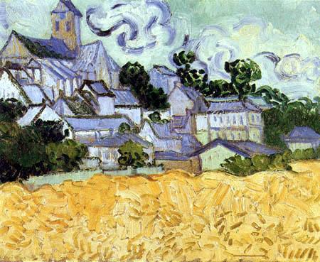 Vincent van Gogh - Auvers mit Kirche