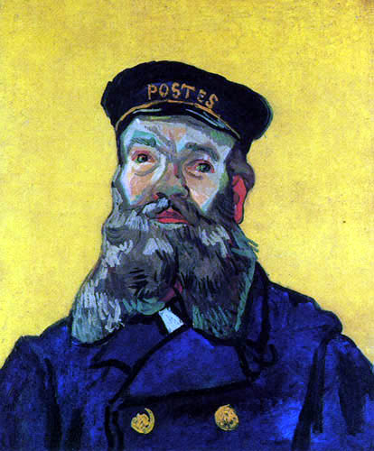 Vincent van Gogh - Joseph Roulin