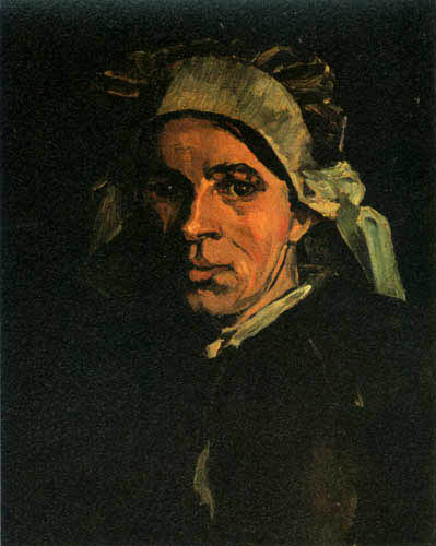 Vincent van Gogh - Head of a Peasant Woman