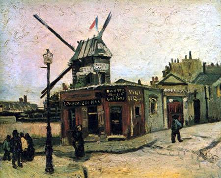 Vincent van Gogh - Le Moulin de la Galette