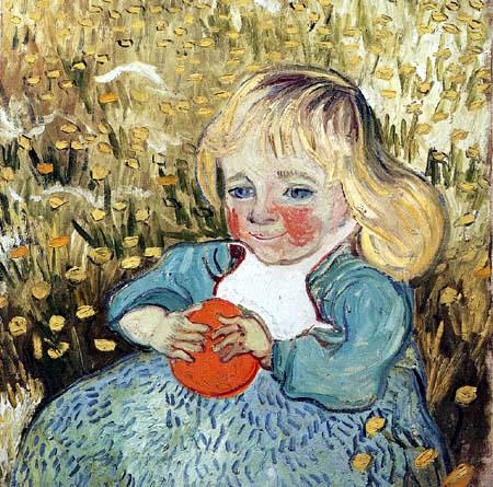 Vincent van Gogh - Mädchen mit Apfelsine