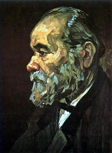 Vincent van Gogh - Bildnis eines alten Mannes