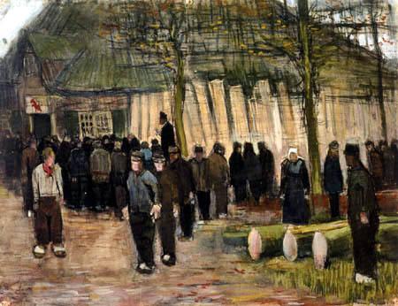 Vincent van Gogh - The wood auction
