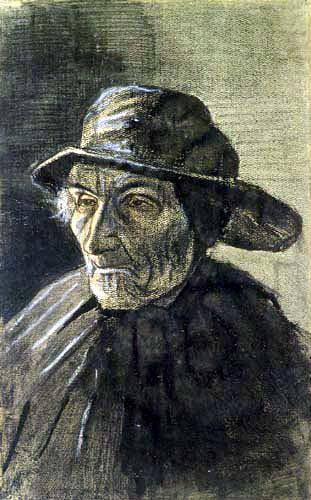 Vincent van Gogh - Fischer mit Südwester