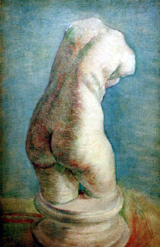 Vincent van Gogh - Gipstorso, weiblich