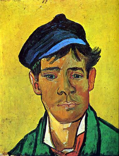 Vincent van Gogh - Junger Mann mit Mütze