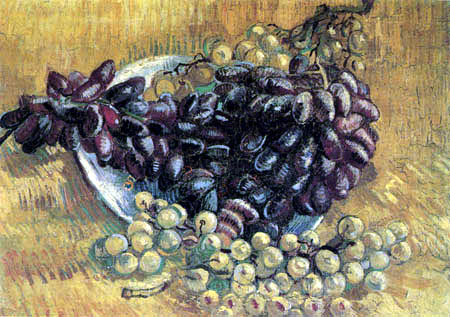 Vincent van Gogh - Stilleben mit Weintrauben