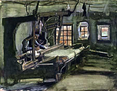 Vincent van Gogh - Weaver