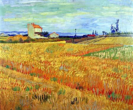Vincent van Gogh - Weizenfeld