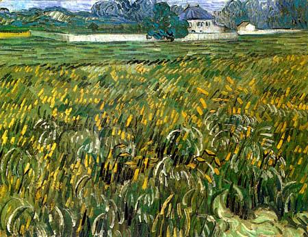 Vincent van Gogh - Weizenfeld in Auvers