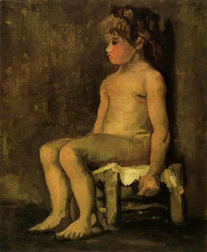 Vincent van Gogh - Akt eines kleinen Mädchens