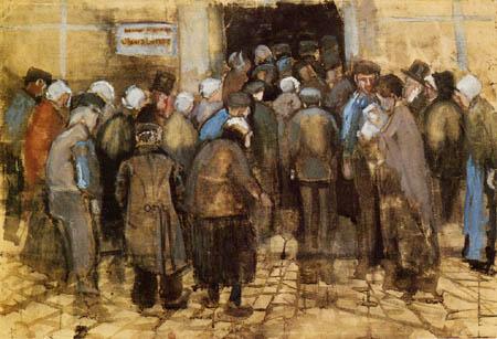 Vincent van Gogh - Vor der Staatslotterie