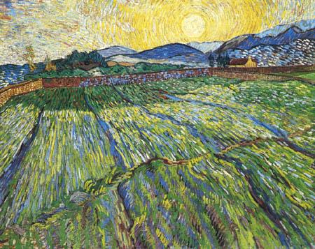 Vincent van Gogh - Landscape near Soleil Levant