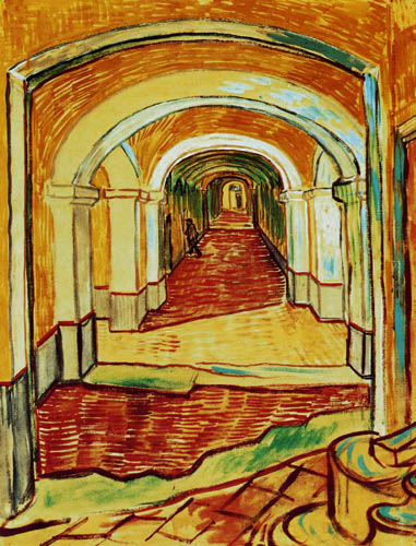 Vincent van Gogh - Corridor in the Hospital